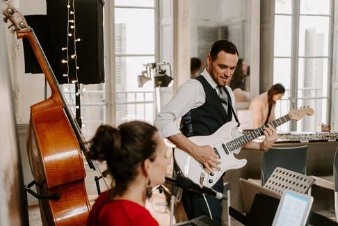 Groupe musique pour votre mariage à Montpellier et Sud de la France.