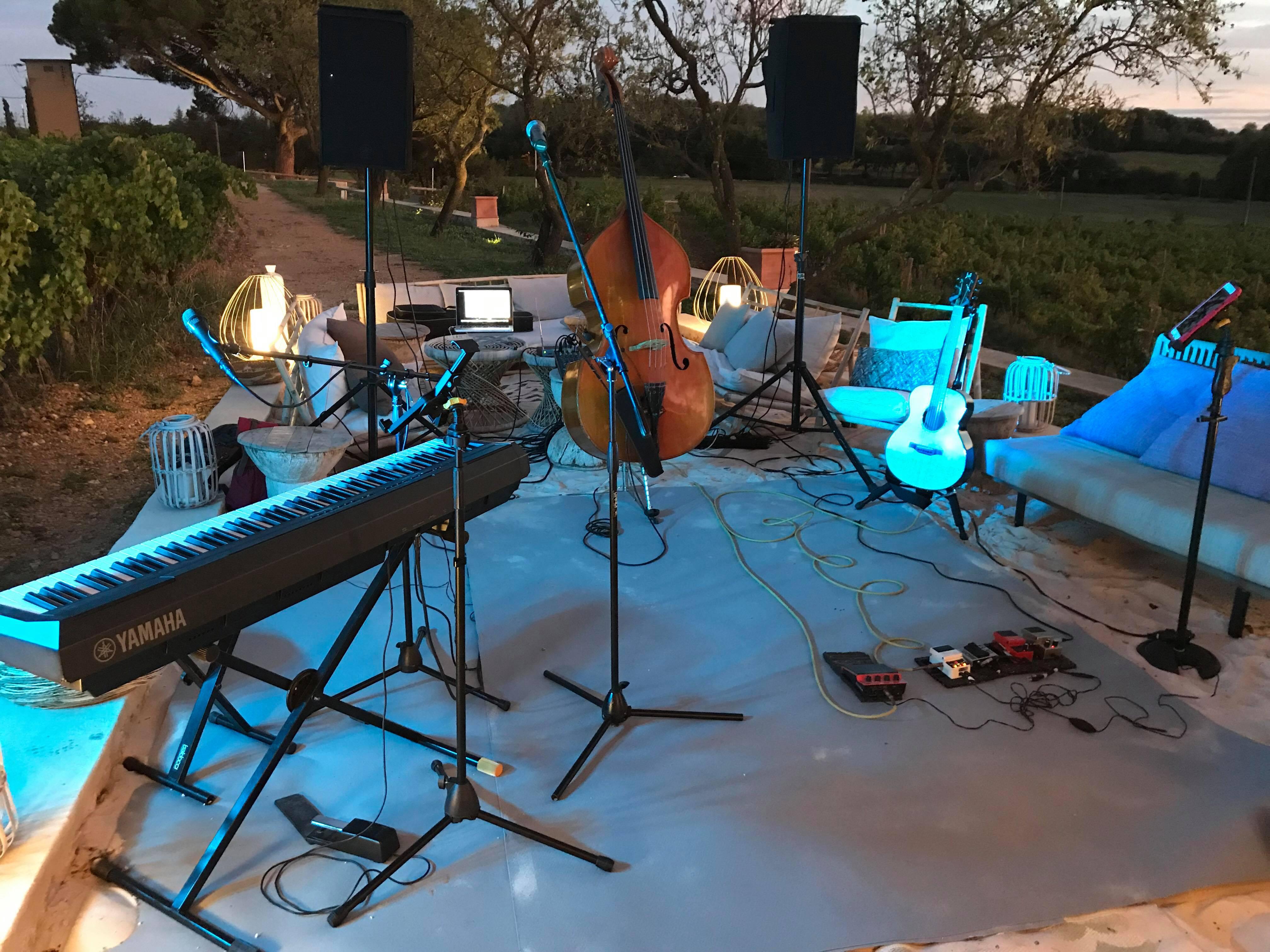 Domaine de Verchant, Animation Musiciens soirée entreprise, événement.